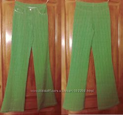 Новые зеленые брюки на лето