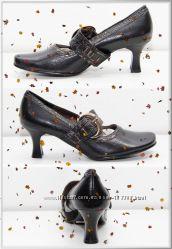 Новые туфли с пряжкой -натуральная кожа- р. 36, 37, 40 - РАСПРОДАЖА