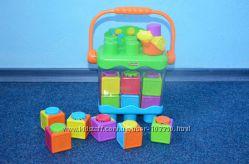 Забавные кубики-блоки с сюрпризами ведерко Fisher-Price