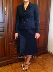 Продам офисный белорусский деловой костюм 50 размер