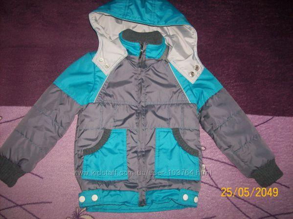 Курточка для мальчика. Люксик р. 98