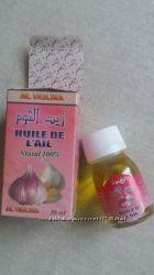 Чесночное масло из Марокко