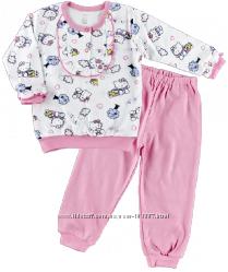 Пижамы интерлок Ляля для девочек и мальчиков