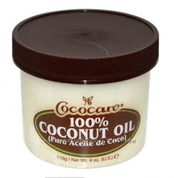Кокосовое масло Cococare 100 для волос и тела. 110 и 198 gr