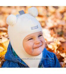Зимние  шапки-шлемы для девочек beezy Бизи в ассортименте. ШОУ-РУМ  в Киеве