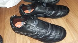 Кожаные кроссовки Lonsdale р. 34-38. Белые, черные
