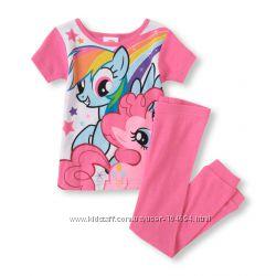 Яркие пижамы Childrens Place для девочек. Цена снижена