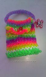 Мастер-класс  Rainbow Loom
