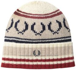 Fred Perry стильный набор шапка и перчатки Англия