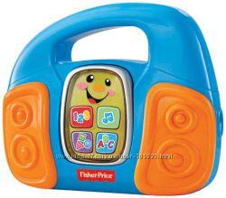 Интерактивная игрушка Fisher Price Учёный CD-плеер язык английский