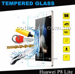 Новое оригинальное защитное стекло для Huawei Ascend P8 Lite