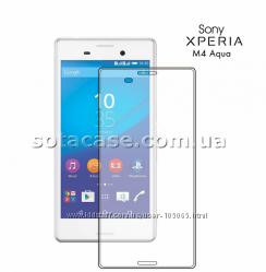 Новое защитное стекло на Sony Xperia M4 Aqua E2312