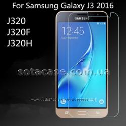 Оригинальное защитное стекло на Samsung J3 2016 J320H J320F