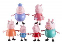 фигурки Свинка Пеппа семья оригинал jazwares