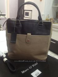 Шикарная кожаная сумка Marc O Polo-оригинал
