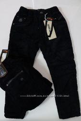 СП Джинсы и брюки на флисе для мальчиков 1-16 лет