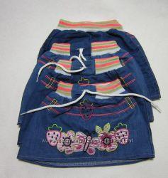 Джинсовые юбки для маленьких модниц 1-2 года