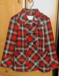 Демисезонное пальто для девочек р. 134-140