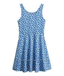 Легкое летнее платье из хлопкового трикотажа