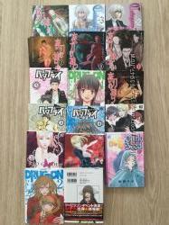 Японские комиксы Манга на английском, японском и русском
