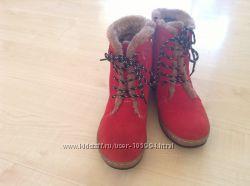 Зимние  ботинки р 37