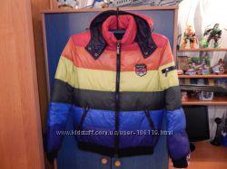 Молодёжная зимняя куртка -пуховик