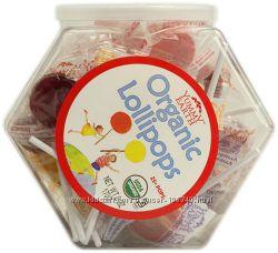 Органические леденцы и желейки из США
