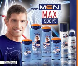 Белорусская косметика. Линия для мужчин MAXsport. Супер цена.