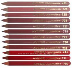 Супер стойкие карандашики для губ AVENIR. Супер цена. В наличии.