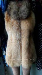 жилетка с лисы
