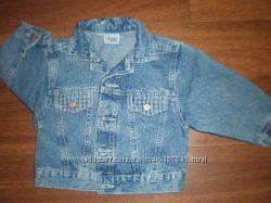 Джинсовый пиджак-куртка, ветровка
