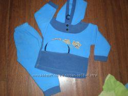 Костюм флисовый, на малыша -1-2 лет