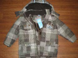 Куртка с капюшоном на мальчика от 94см