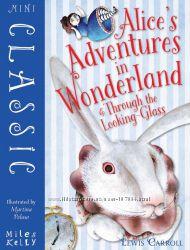 Алиса в стране чудес, в Зазеркалье, цветные иллюстрации