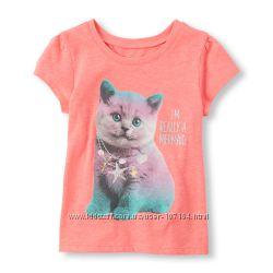 Самые красивые футболки Childrens place