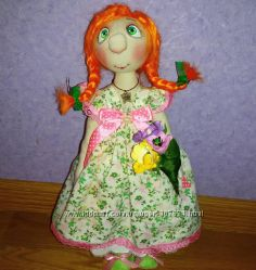 Милые куколки ручной работы