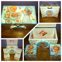 Шкатулочки для малышей