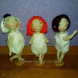 Куколки по рисункам Эллины Элис