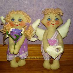 Маленькие ангелочки ручной работы