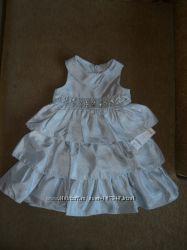 Нарядное многослойное платье GYMBOREE 4Т