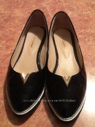 Продам срочно кожаные балетки Kluchini