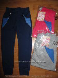 Спортивные штаны для девочек.  6-14 лет.  Венгрия.