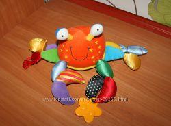 Игрушки развивающие крабик Tolo, осьминожка ELC, божья коровка Chicco