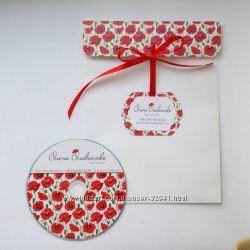 Красивые и стильные конверты и коробочки для CD и DVD дисков