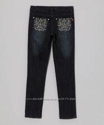 Супермодные американские джинсы со стразами