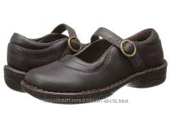 новые кожаные туфельки b. o. c. kids США р. 33