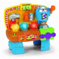 Музыкальная развивающая игрушка Fisher-Price Волшебный верстак