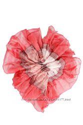 Новый шарфик, 2 цвета темный и розовый. На подарки