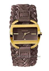 Крутые немецкие часы MANDARIN  кожаный ремеш