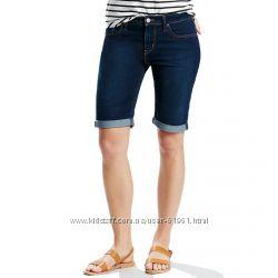 Levis bermuda шорты женские  распродажа, W24, W25, W26, W27, W28, W29, W30